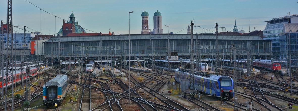 Hauptbahnhof München , Foto: muenchen.de/Michael Hofmann