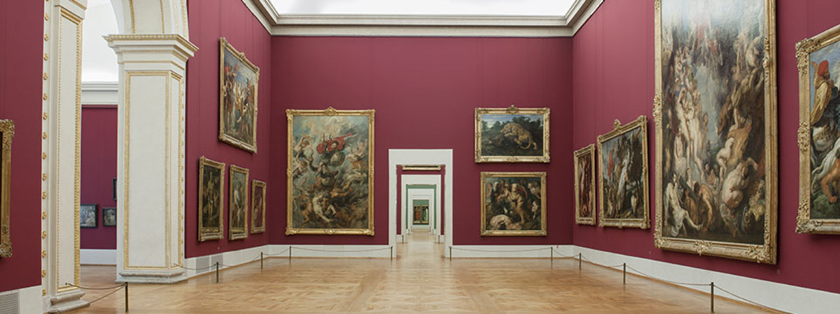 Alte Pinakothek, Roter Saal, Foto: Bayerische Staatsgemäldesammlungen/Haydar Koyupinar