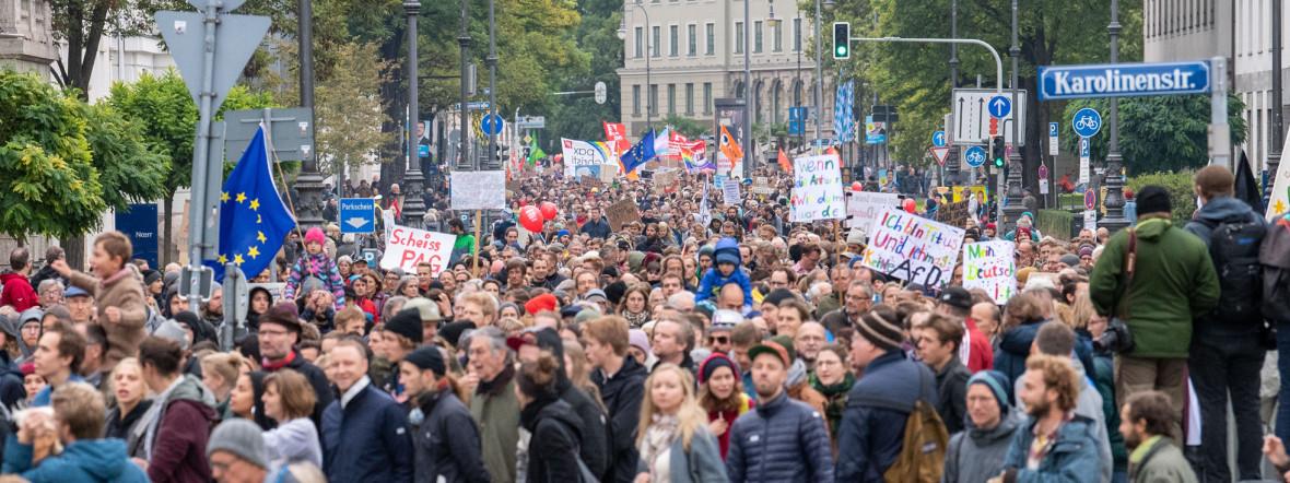 demo münchen