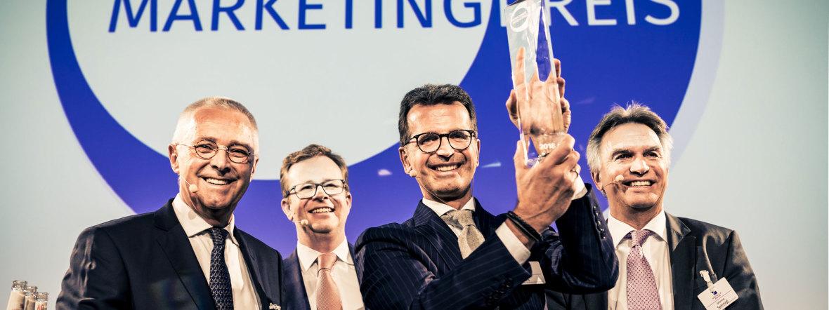 Hirmer gewinnt Münchner Marketingpreis 2018, Foto: Michael Kuhlmann