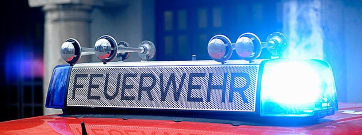 Blaulichtbalken Feuerwehr , Foto: Münchner Branddirektion