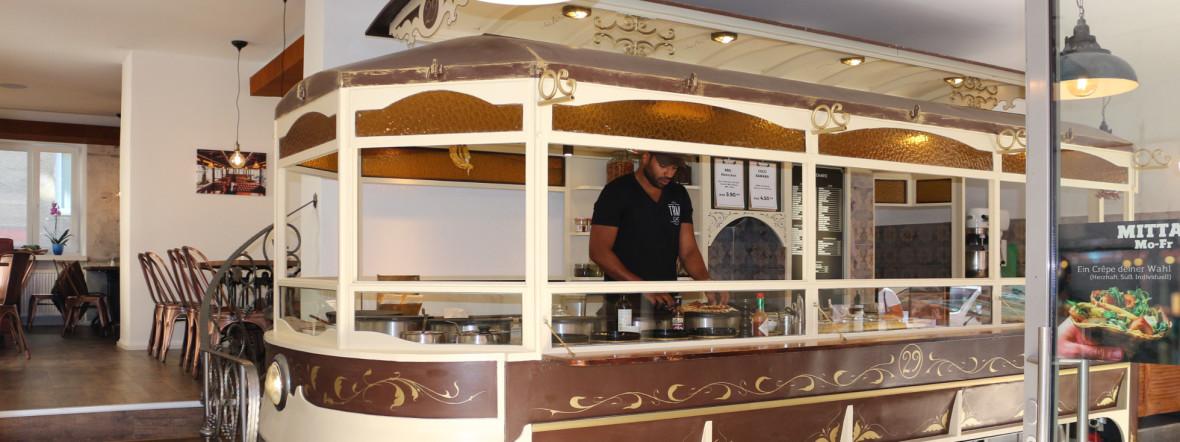Tram Café in der Müllerstraße, Foto: Tram Café GbR