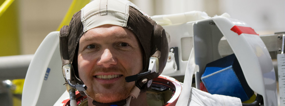 ESA Astronaut Alexander Gerst, Foto: ESA - S. Corvaja
