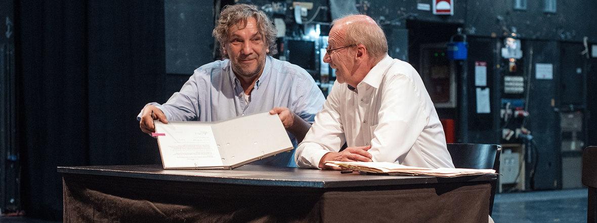 Christian Stückl und Hans-Georg Küppers, Foto: Gabriela Neeb
