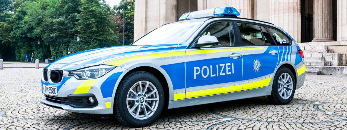 Symbolbild: Polizeiauto in München, Foto: Polizei München