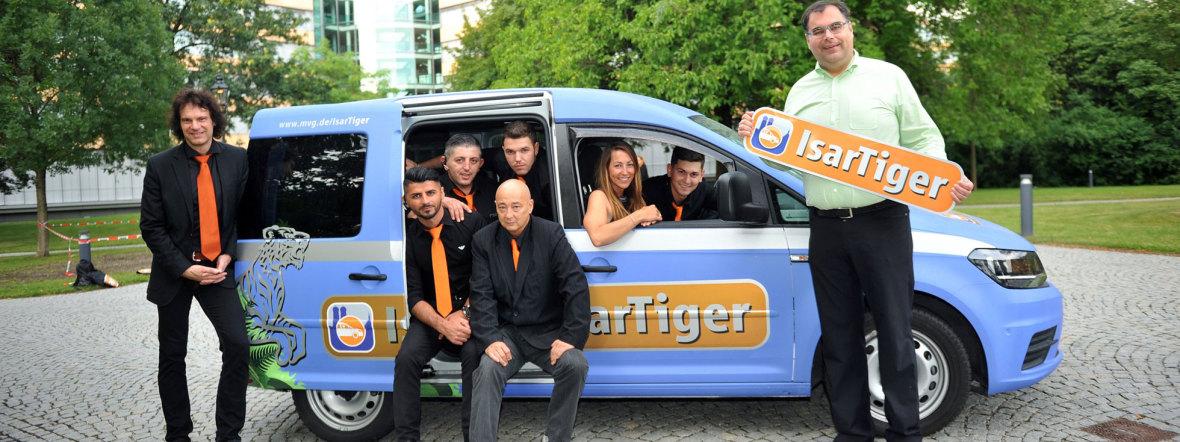 Team IsarTiger, Foto: SWM/MVG