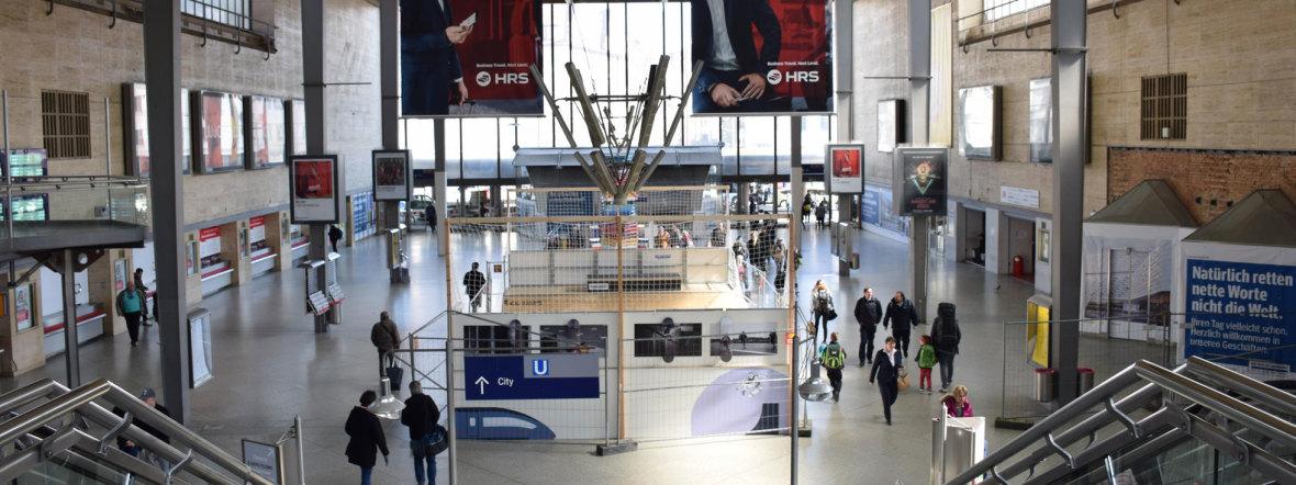 Alte Schalterhalle am Hauptbahnhof München , Foto: DB AG