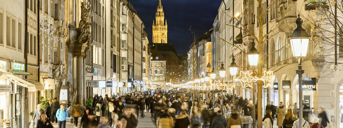 Die Sendlinger Straße nach Umbau zur Fußgängerzone, Foto: Olaf Becker