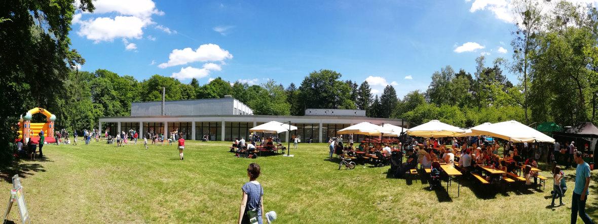 Eröffnung des Hermann-von-Siemens-Sportparks, Foto: Referat für Bildung und Sport/Andreas Gebert