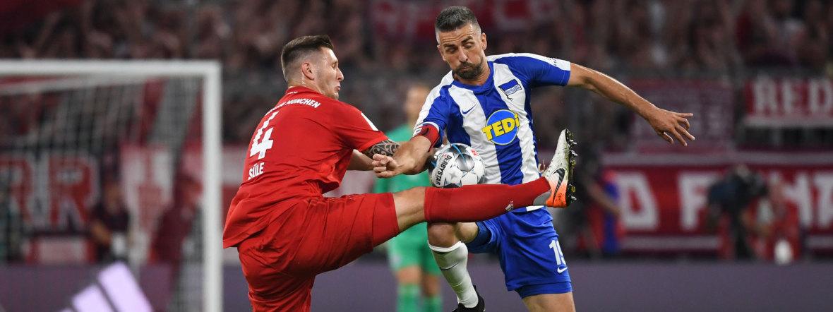 Hertha Bsc Gegen Fc Bayern MГјnchen