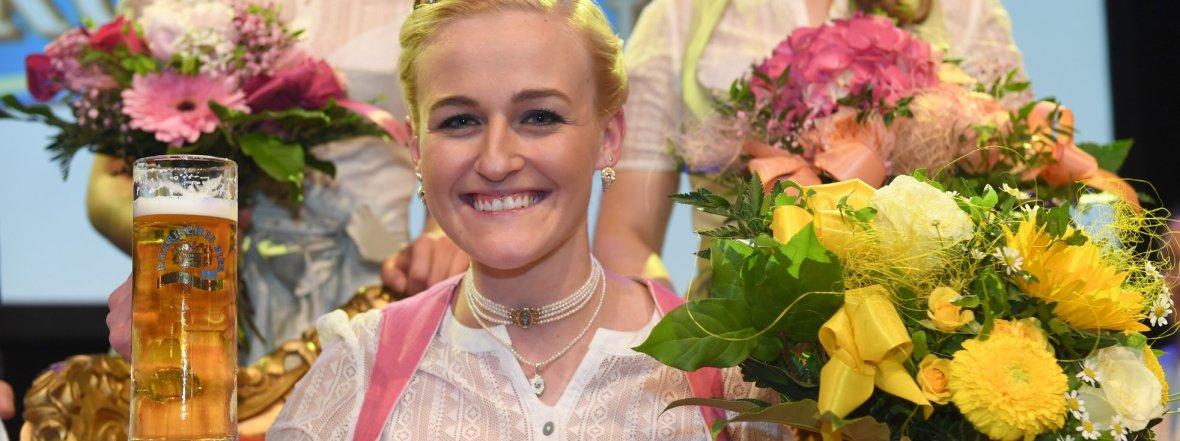 Veronika Ettstaller ist Bierkönigin 2019 , Foto: Felix Hörhager