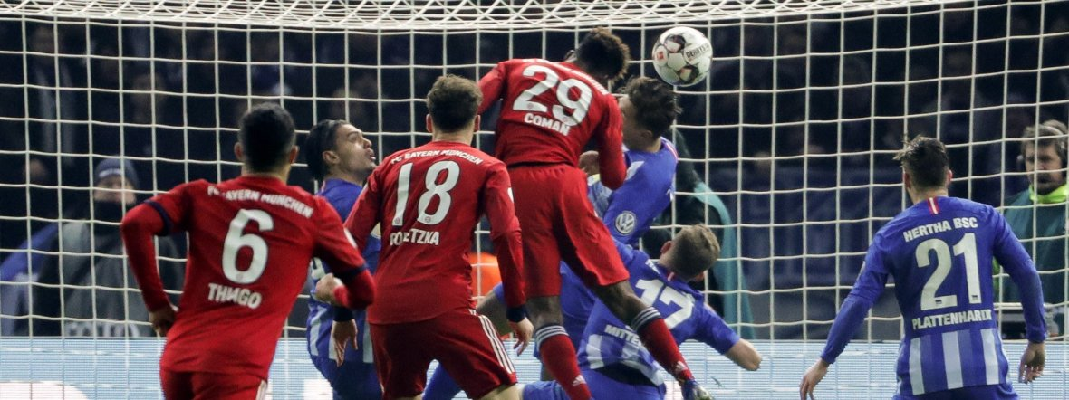 Bayern hertha dfb pokal
