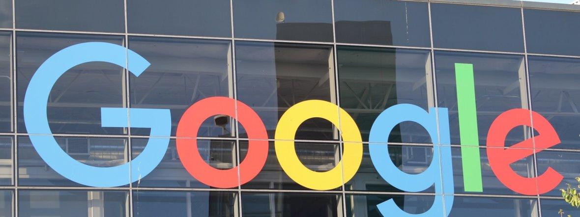 Google-Schriftzug, Foto: Christoph Dernbach / dpa