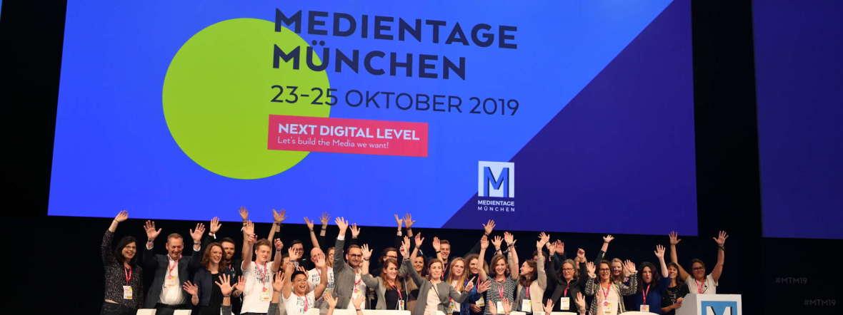 Imrpessionen von den Medientagen München 2019, Foto: MEDIENTAGE MÜNCHEN/Medien.Bayern GmbH