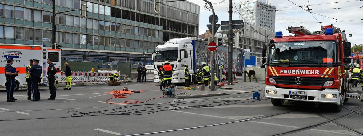 Am Hauptbahnhof kam es zu dem tragischen Unfall., Foto: Berufsfeuerwehr München