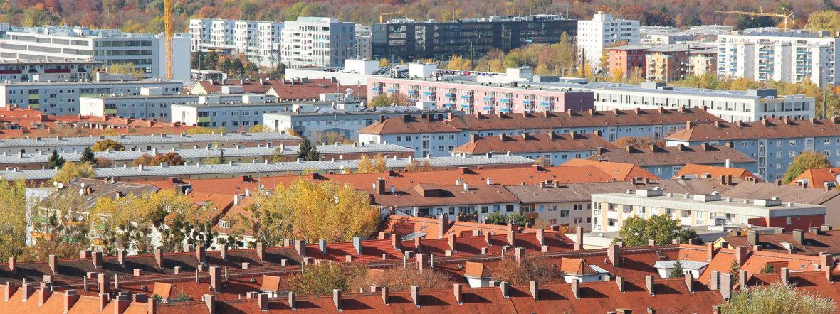 Wohngebiet im Münchner Stadtteil Laim, Foto: muenchen.de/Katy Spichal