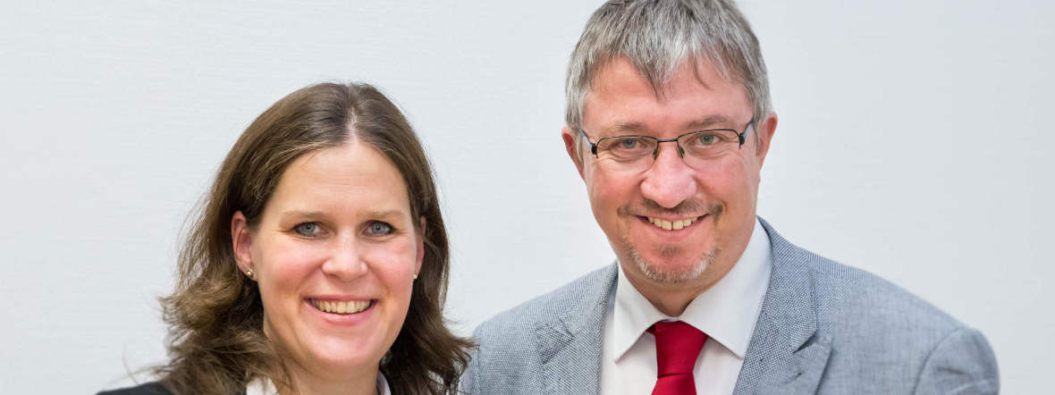 Verena Dietl und Christian Müller, Foto: SPD-Stadtratsfraktion München