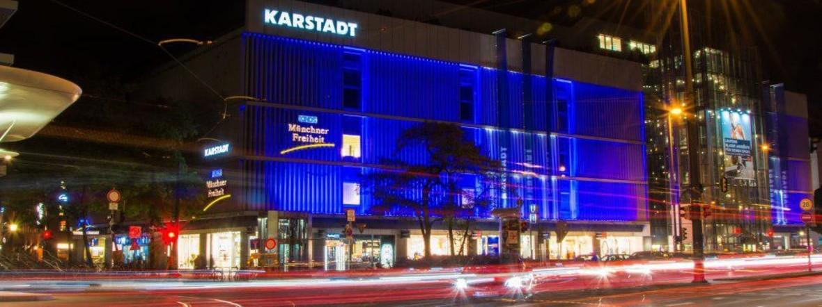 Die Kinos Münchner Freiheit im Karstadt-Gebäude in Schwabing, Foto: muenchen.de/Michael Hofmann