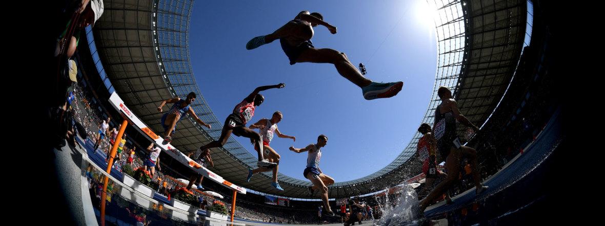 Leichtathletik-Wettbewerb bei den European Championships 2018, Foto: Berlin 2018 via Getty Images