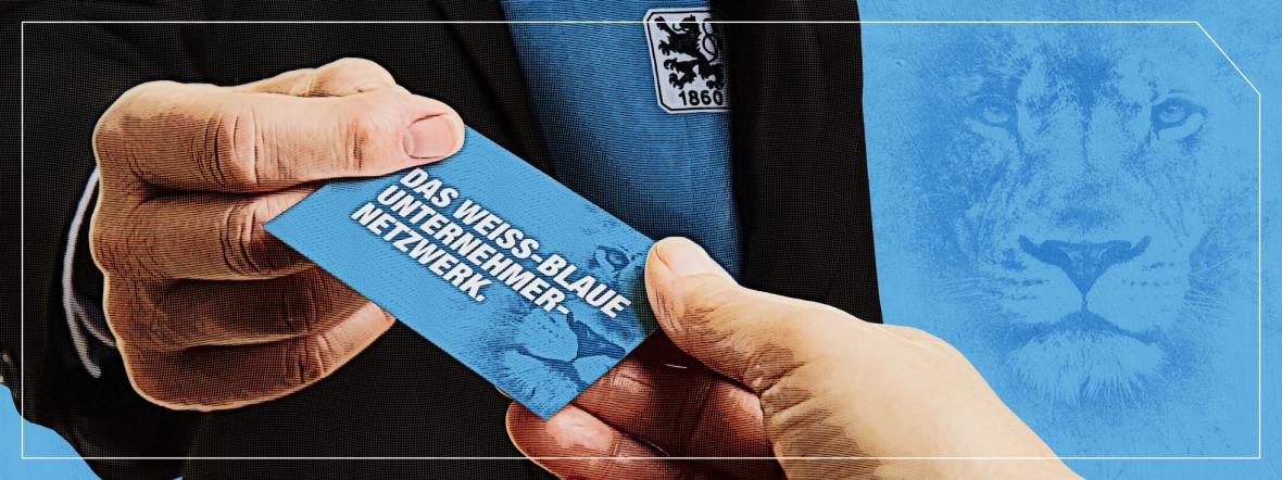 """Unternehmernetzwerk """"I bin a Weiss-blauer"""", Foto: TSV 1860 München"""