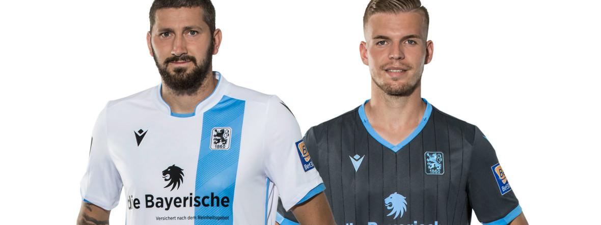 Die neuen Trikots des TSV 1860 München., Foto: TSV 1860 München
