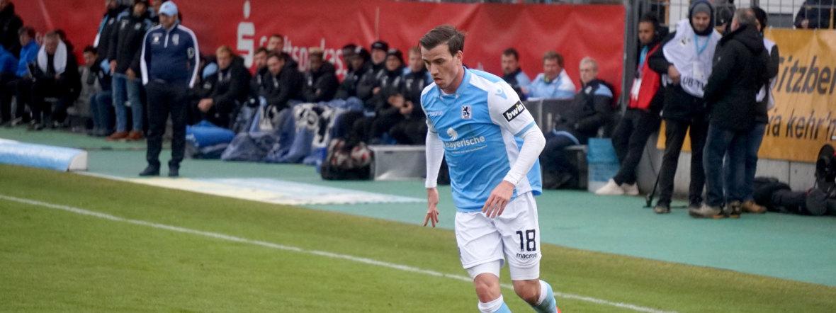 Nico Karger vom TSV 1860 in Aktion, Foto: TSV 1860 München