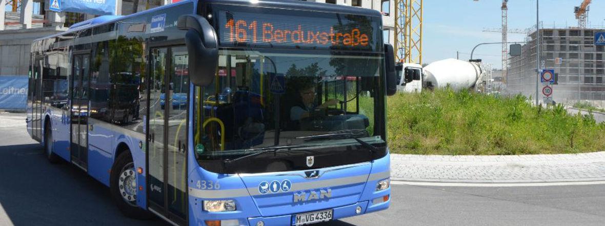 StadtBus 161, Foto: MVG/SWM