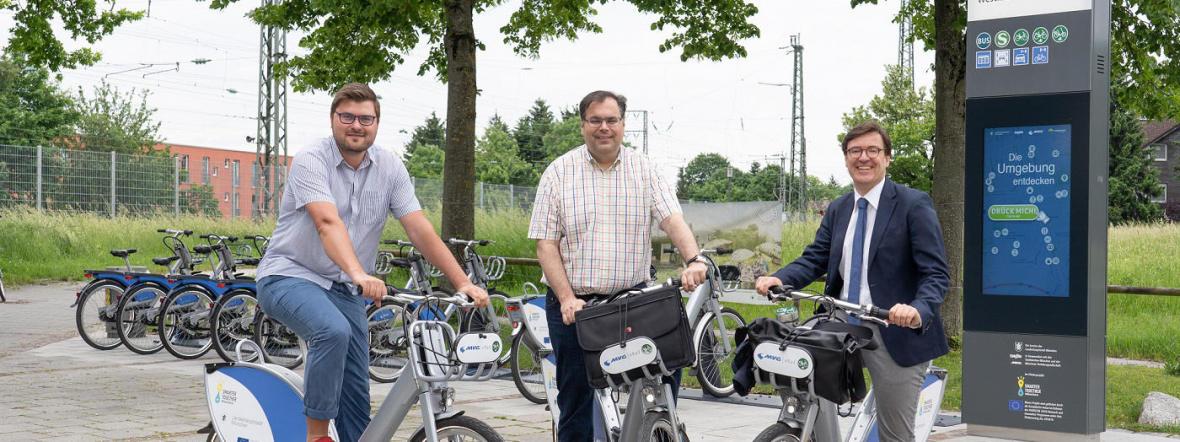 Radtour Smarter Together, Foto: SWM/Oliver Bodmer