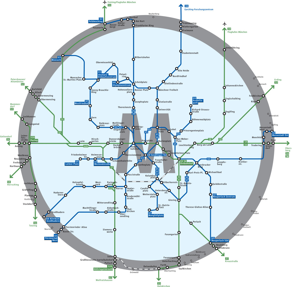 Mvv Zonen Karte.Mvv Beschliesst Tarifreform Ab 2019 Das Offizielle