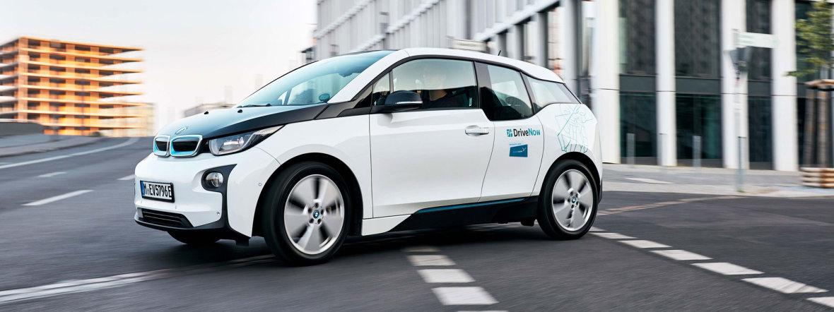 CarSharing-Fahrzeug von BMW, Foto: DriveNow