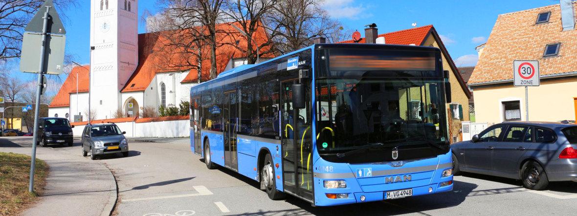 Bus in München, Foto: SWM/MVG