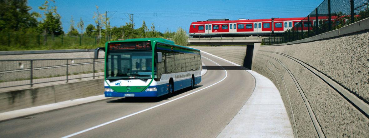 Bus und S-Bahn, Foto: 2017 MVV GmbH
