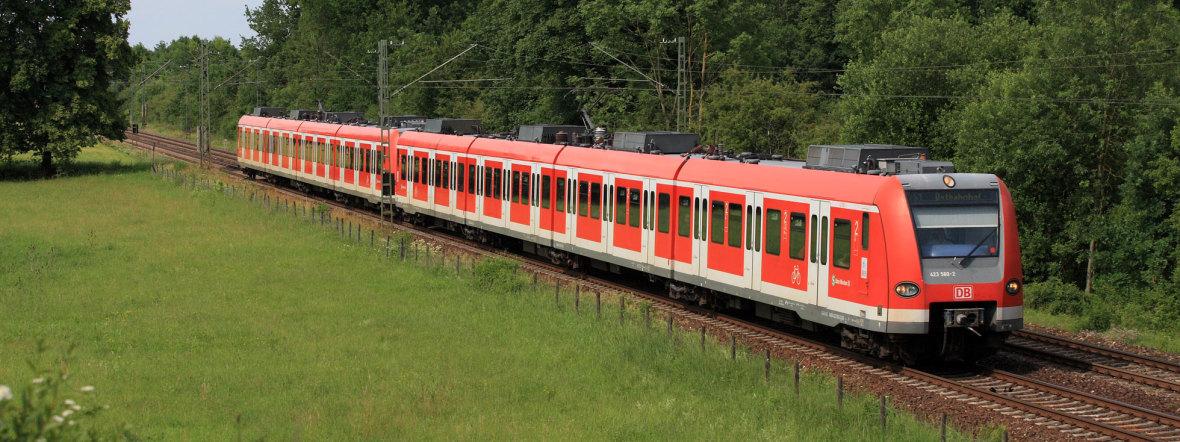 S-Bahn im Münchner Umland, Foto: Deutsche Bahn AG / Uwe Miethe (Symbolbild)