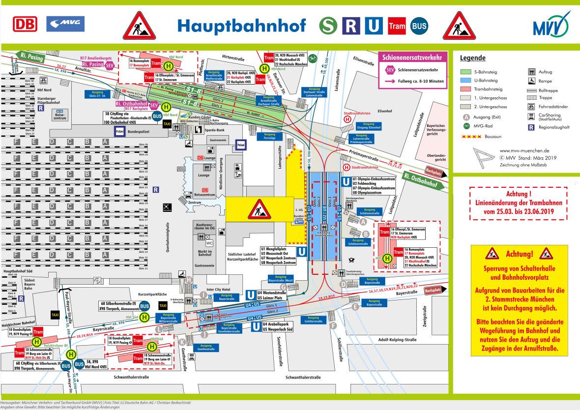 Hauptbahnhof Baustelle So Kommt Ihr Trotzdem Zu Den Zugen Das