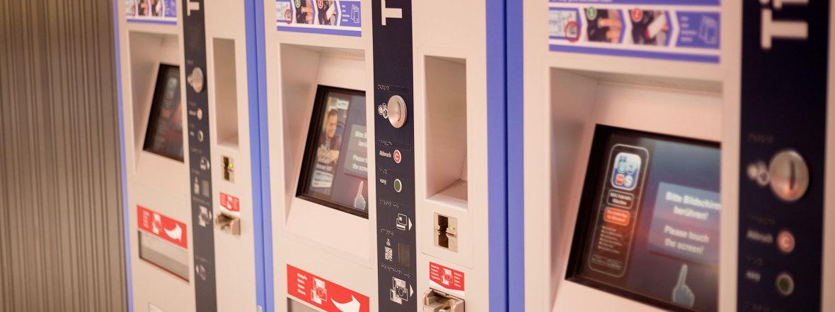 Ticketautomat der MVG, Foto: MVV/Markus Kleimair