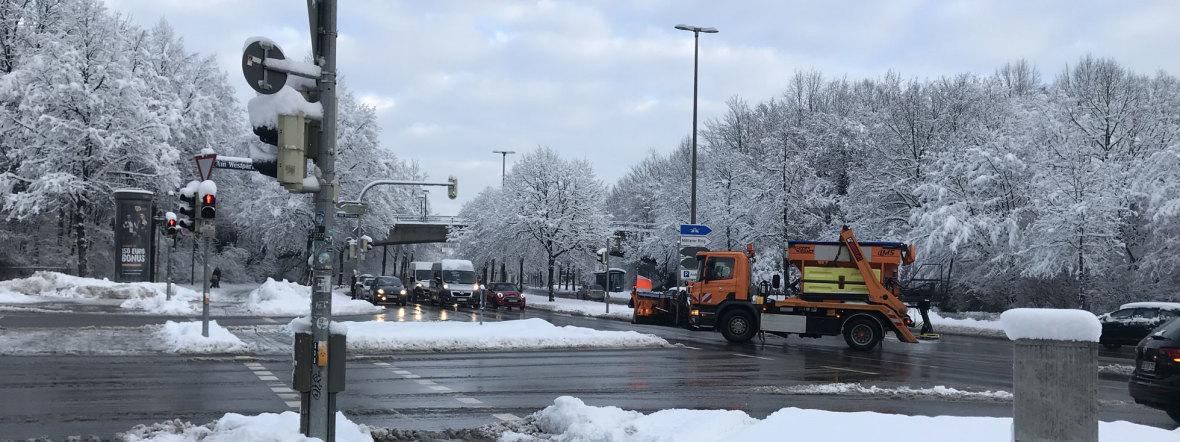 Schneedienst, Foto: muenchen.de
