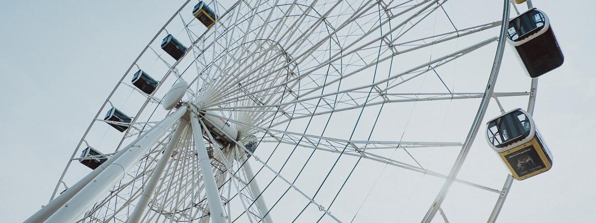 Hi-Sky Riesenrad München, Foto: Anette Göttlicher