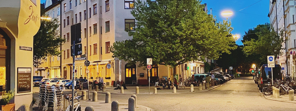 Die Ehrengutstraße im Dreimühlenviertel, Foto: Anette Göttlicher