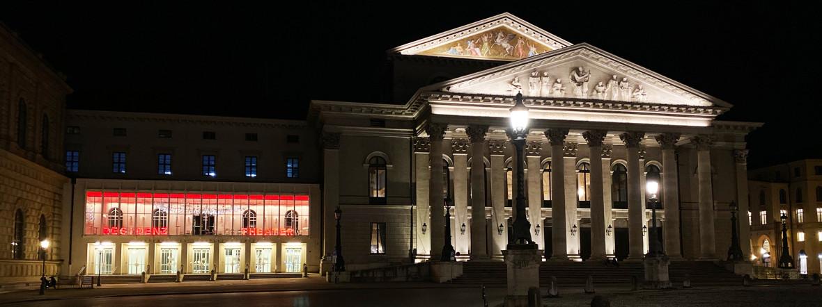 Das Residenztheater und die Bayerische Staatsoper, Foto: Anette Göttlicher
