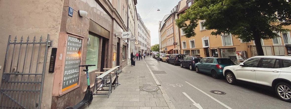 Westenriederstraße in München, Foto: Anette Göttlicher