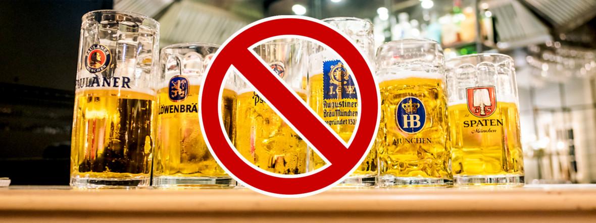 Alkohol-Ausschankverbot in München