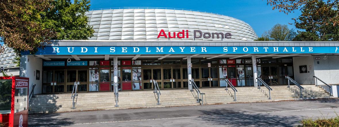 Audi Dome in München, Foto: muenchen.de/Michael Hofmann