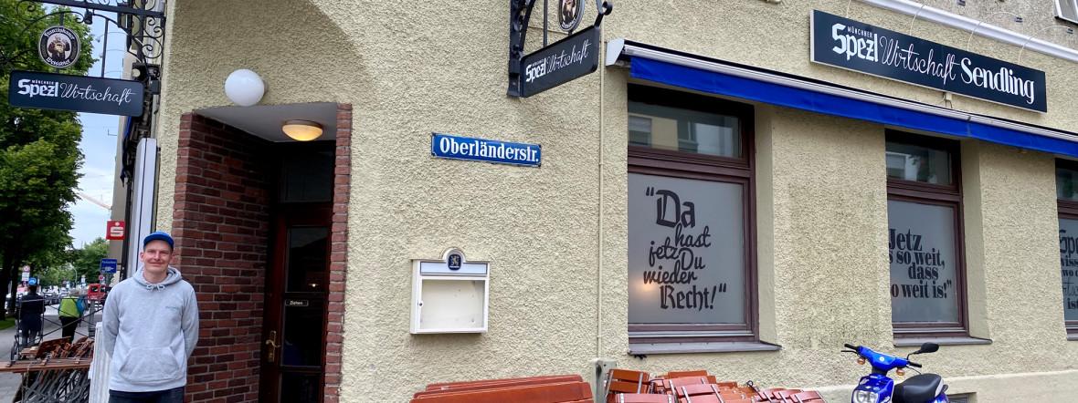 Die neue Spezlwirtschaft in Sendling, Foto: Gunnar Jans