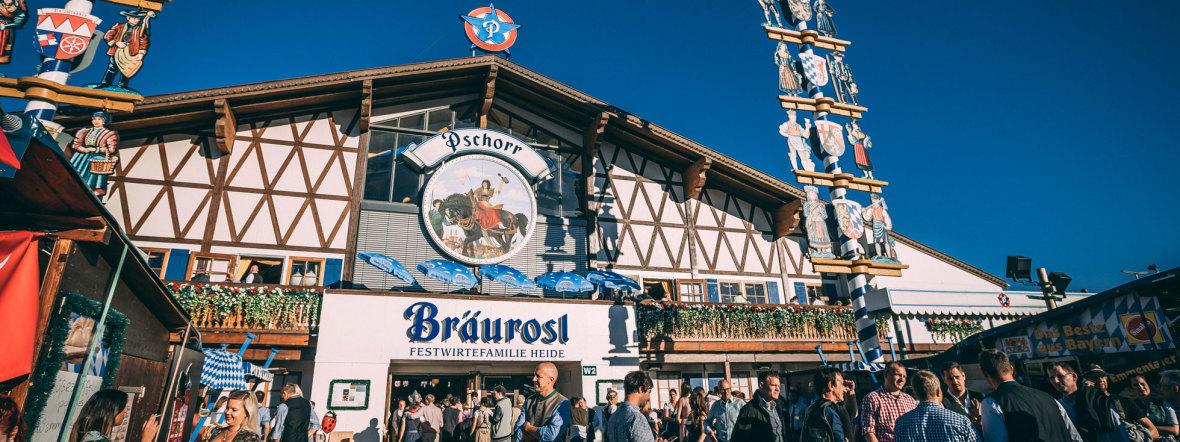 Bierzelt Pschorr Bräurosl, Foto: Sebastian Lehner