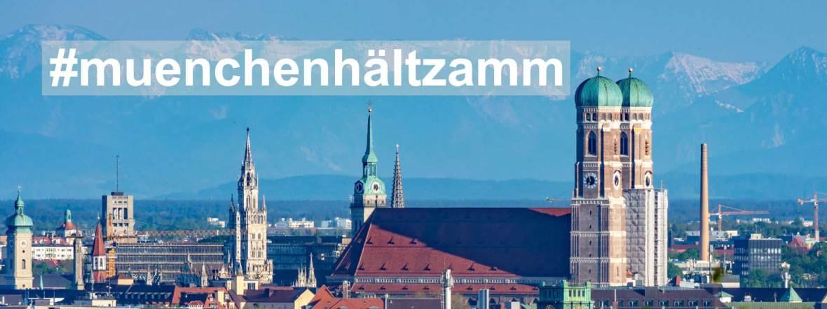 München-Panorama, Foto: muenchen.de/Michael Hofmann