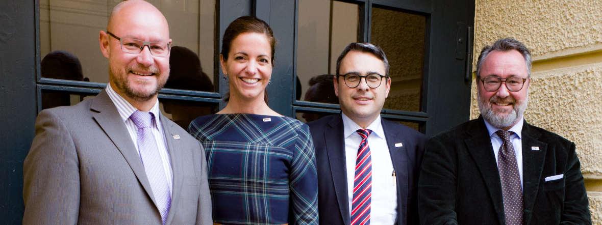 Vorstand des Münchner Sicherheitsforums, Foto: Münchner Sicherheitsforum