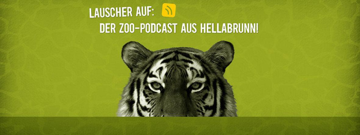 Logo des Zoo-Podcasts aus dem Tierpark Hellabrunn, Foto: Tierpark Hellabrunn