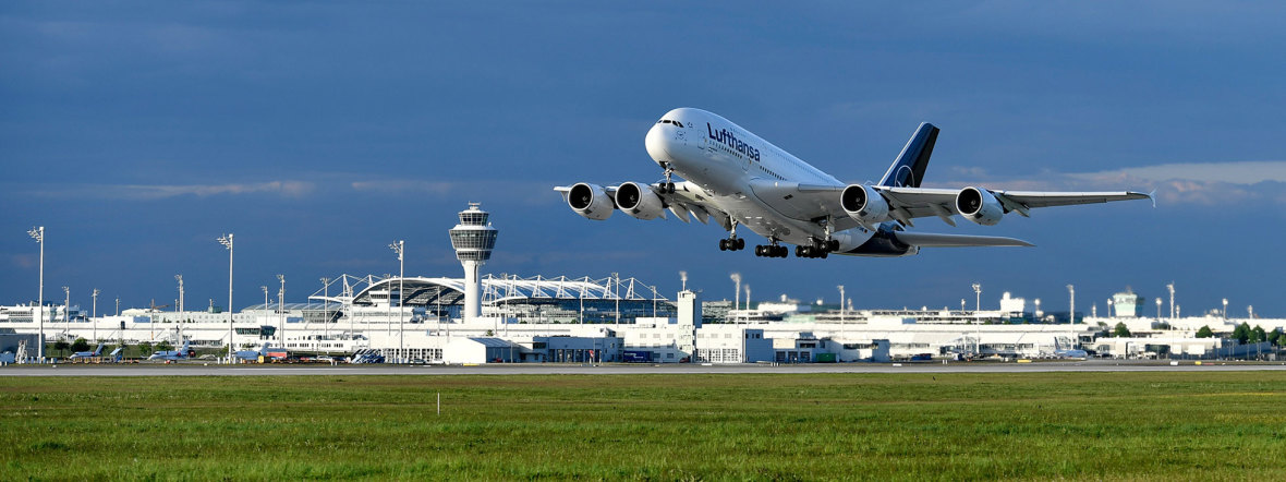 Flughafen München Passagierrekord, Foto: Flughafen München GmbH