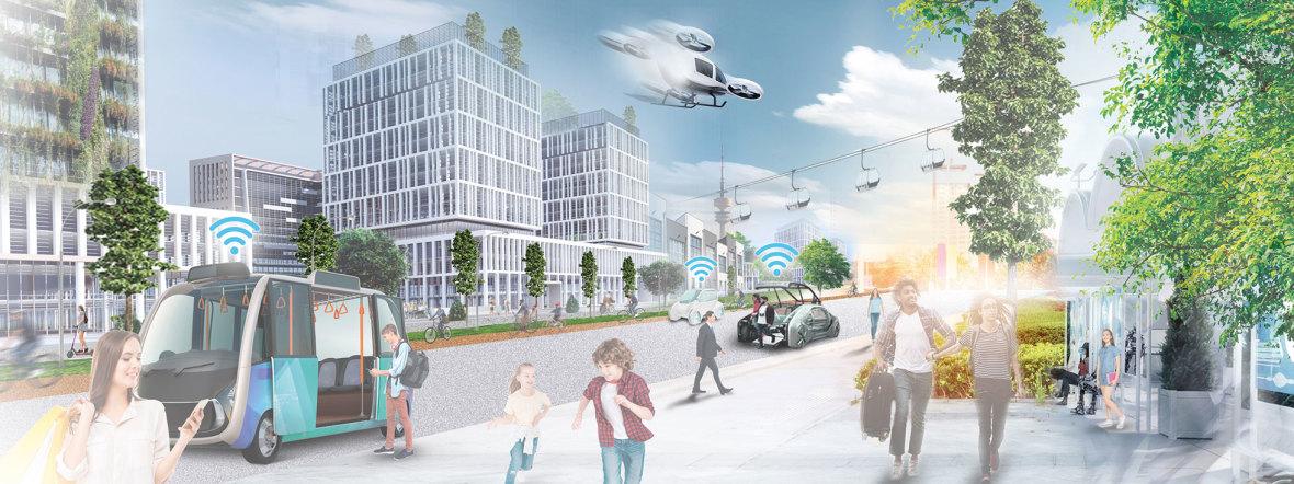 Innovative Verkehrsmittel, Foto: Peter und der Wolf Communications GmbH / LHM