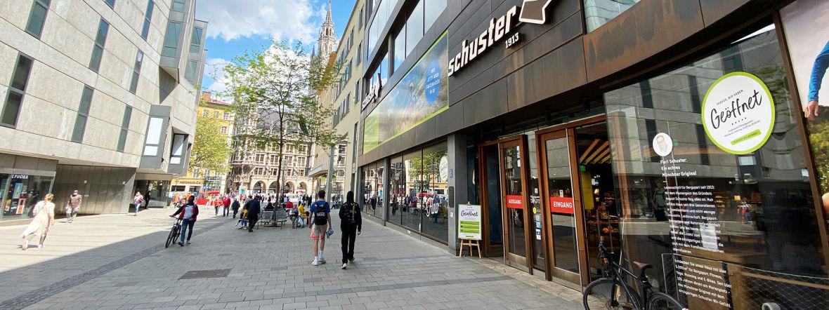 Münchner Innenstadt: Rosenstraße, Foto: Anette Göttlicher